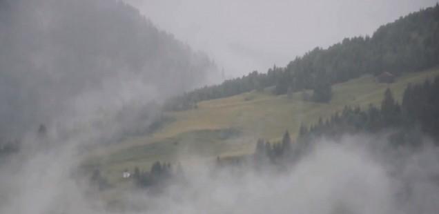 Ein Regentag in Sedrun